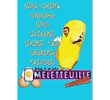 Omeletteville Photographic Print
