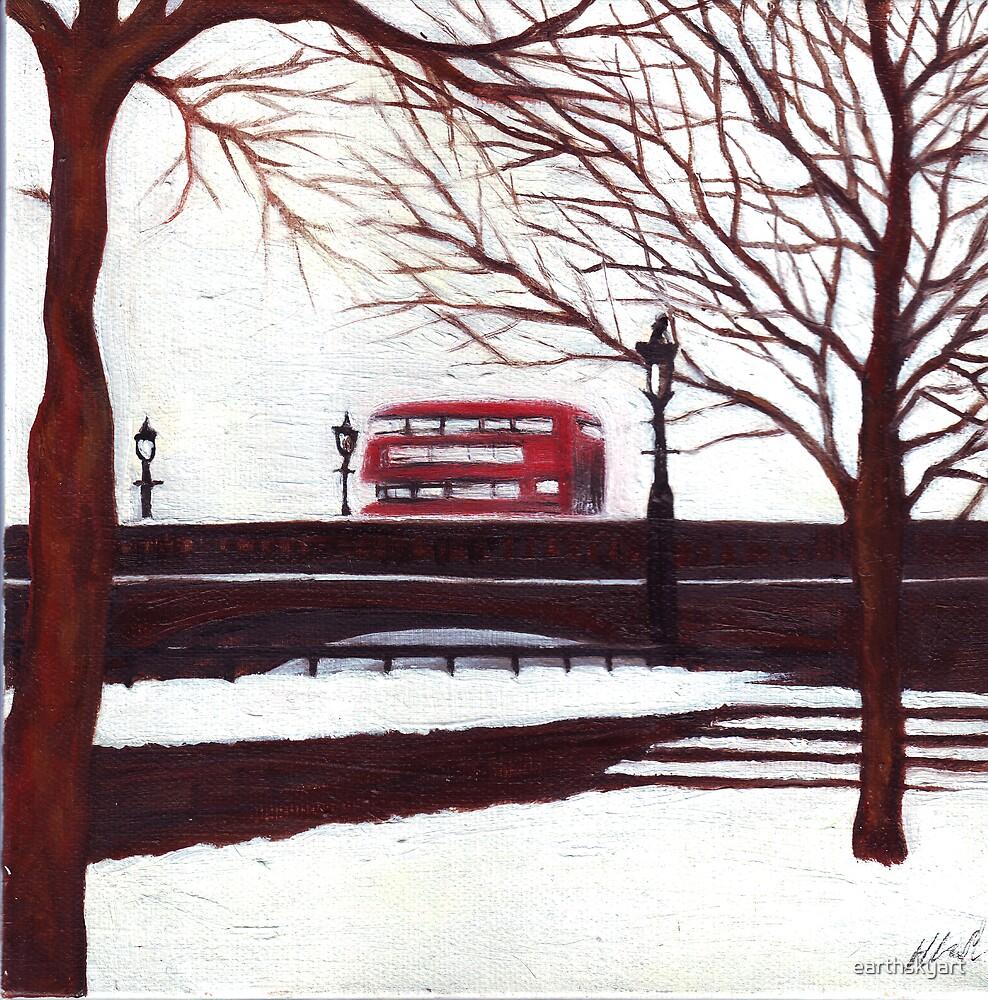 London Bus by earthskyart
