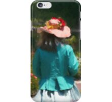 GARDEN HAT iPhone Case/Skin