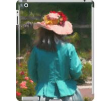 GARDEN HAT iPad Case/Skin