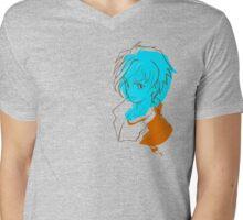 Manga Boy Mens V-Neck T-Shirt