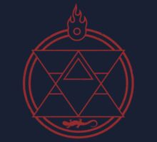 Flame Transmutation Circle Kids Clothes