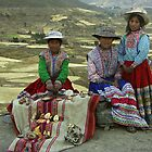 Peruvian Girls with Traditional clothes  by chrisfx