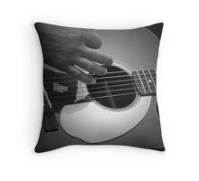 Music of LIfe Throw Pillow