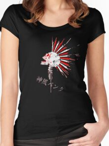 Kamikaze punk! V.2 Women's Fitted Scoop T-Shirt