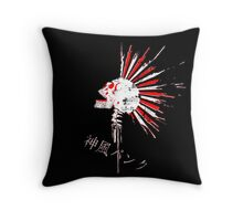 Kamikaze punk! V.2 Throw Pillow