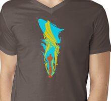 Destruction Flux Mens V-Neck T-Shirt