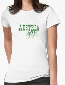 Austria Roots Womens Fitted T-Shirt