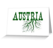 Austria Roots Greeting Card