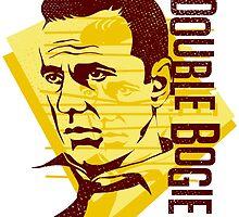 Humphrey Bogart retro graphic by DKMurphy
