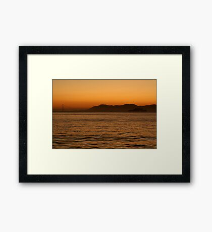 As the Day Comes to an End... Framed Print
