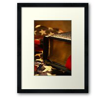 With Liberty, And Justice, For All. Framed Print