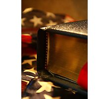 With Liberty, And Justice, For All. Photographic Print