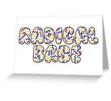 Primary Radical Babe Greeting Card