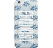 Feminist Floral No. 1 iPhone Case/Skin