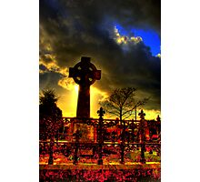 Lylo Celtic Cross Photographic Print