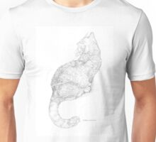 Cat Curvature Unisex T-Shirt