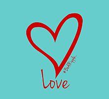 LOVE....#BeARipple Red Heart on Tiffany by BeARipple