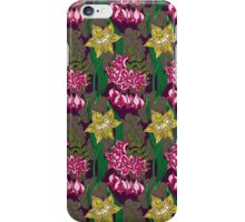 daffodils and lilies iPhone Case/Skin