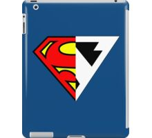 Superman And Future Superman iPad Case/Skin