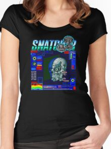 Snatcher (Sega CD) Logo v3.0 Women's Fitted Scoop T-Shirt