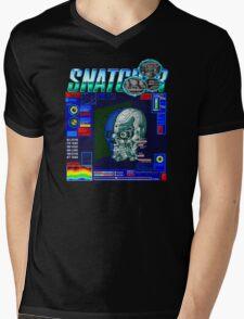 Snatcher (Sega CD) Logo v3.0 Mens V-Neck T-Shirt