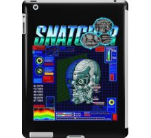 Snatcher (Sega CD) Logo v3.0 iPad Case/Skin