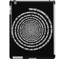 Spiral of deception iPad Case/Skin