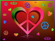 Peace & Love by TeriLee