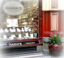 Haighs Chocolates Shop, Melbourne Australia by SpikeyRose