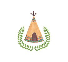 Tipi Photographic Print