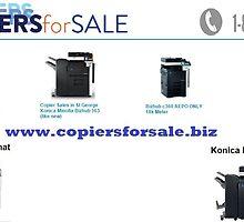 Konica Minolta Bizhub - www.copiersforsale.biz<br>     by copiersforsale