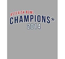 Asterisk Bowl Champions* 2014 Photographic Print