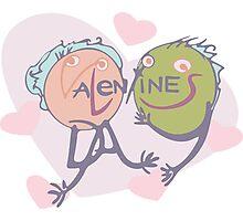 Valentine's in love Photographic Print