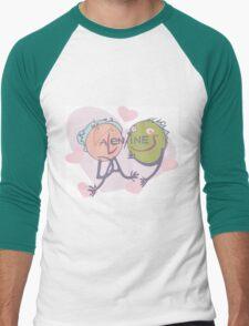 Valentine's in love Men's Baseball ¾ T-Shirt