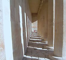 Temple of the Queen of Hatshepsut, Egypt by istanbulgirl