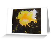 Pale Moonlight Greeting Card