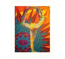 natarajasana - 2008  Art Print