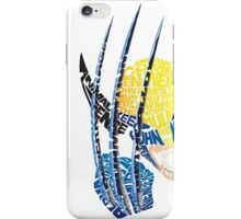 Wolvie History Typography iPhone Case/Skin