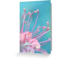 Pink Tangle Greeting Card