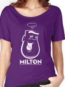 Milton the Monster - dark background Women's Relaxed Fit T-Shirt