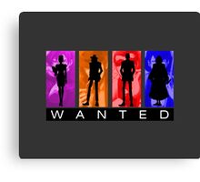Wanted Lupin III Canvas Print