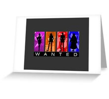 Wanted Lupin III Greeting Card
