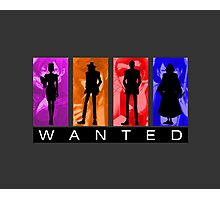 Wanted Lupin III Photographic Print