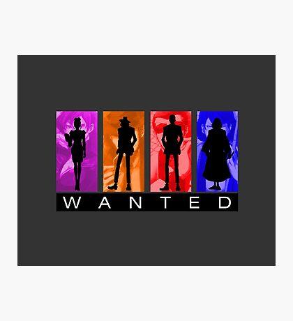 Wanted Lupin III Photographic Print