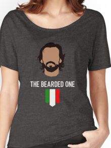 The bearded one - pirlo Women's Relaxed Fit T-Shirt