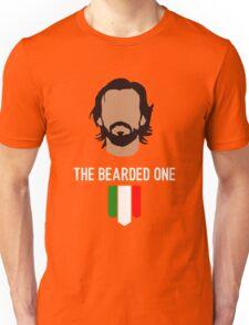 The bearded one - pirlo Unisex T-Shirt