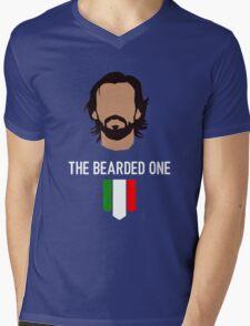 The bearded one - pirlo Mens V-Neck T-Shirt