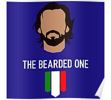 The bearded one - pirlo Poster