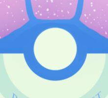 Pokemon contest logo Sticker